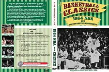 1964 NBA All-Star Game at Boston Garden (Color) & Boston Celtics Highlights DVD!