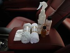 PFERD PRO LEATHER CLEANER RECOVERY NEW NANO TECHNOLOGY LEATHER REPAIR KIT SALE!!