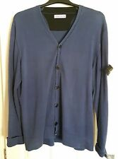 STONE ISLAND buttoned cardigan - BLUEY PURPLE - size XXL approx 50in chest - VGC