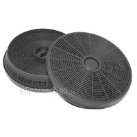 HOTPOINT Cooker Hood Charcoal Filter 2 x Round Carbon Extractor Vent Filters