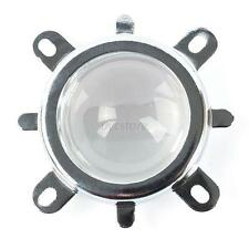 For High Power LED 44mm Lens 50mm Reflector Collimator With Fixed Bracket