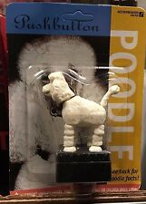 1997 Accoutrements Pushbutton Poodle Toy FACTORY SEALED