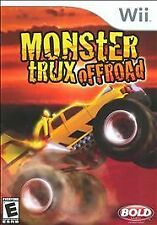Nintendo Wii Game MONSTER TRUX OFFROAD