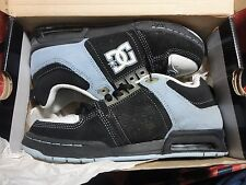 NIB DC JOSH KALIS SIGNATURE BLACK CBLUE SIZE 5 SKATEBOARD SHOES NEVER WORN 414