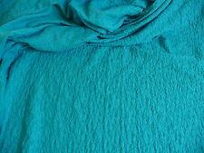 Jersey,Mischgewebe,Baumwolle Elastan Meterware Gesmokt 144 cm Türkis