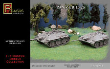 PEGASUS GERMAN E-25 TANKS 1:72 PGS7602
