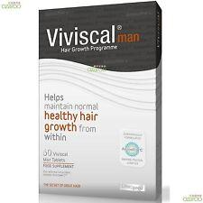 Viviscal Hombre de Máxima Fuerza pelo Suplemento nutrición 1 mes de suministro 60 Tabletas