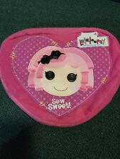 Lalaloopsy Sew Sweet Crumbs Sugar Cookie Plush Backpack Heart Shaped Bag School