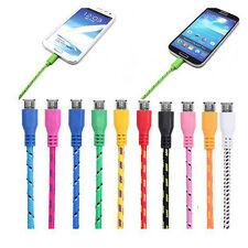 1M Mikro USB Daten Synchronisierungs Kabel Ladekabel für Handy