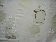 "HARLEQUIN CURTAIN FABRIC DESIGN ""Akemi"" 10.8 M Gold, Blush and Coffee c/w 7183"