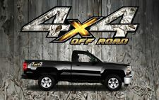 2 4x4 Off Road Truck Camouflage Camo Truck Bed Decals Stickers-OROBS