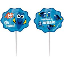 Finding Dory Fun Pix Cake Toppers for Cupcakes - Non Edible