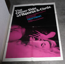 THE OTHER SIDE OF BONNIE AND CLYDE orig 1968 EXPLOITATION poster LARRY BUCHANAN