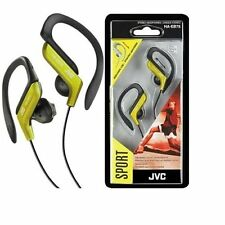 JVC HA-EB75 Sport Clip Design Earphones/ Yellow - Brand New Sealed - Free Ship