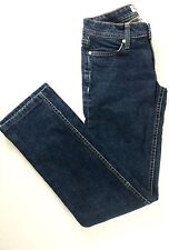 HABITUAL Designer Denim Jeans Happy Daze Womens Sz 27 Straight Leg Dark Wash EUC