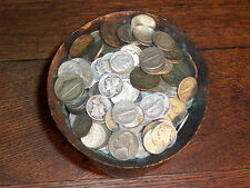 SILVER ISN'T JUNK! PREPPERS LOT--U.S. SILVER COINS, one (1) ounce 1892-1964 ONLY