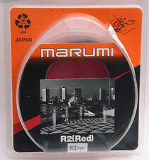 62mm R2 Red Photo Filter for BW Contrast - Marumi Japan - NEW G8