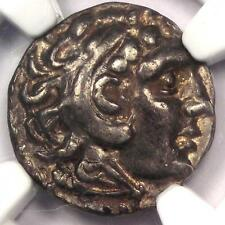 Alexander the Great III Celts AR Drachm Coin 3rd Century BC -  NGC XF - Rare!