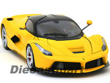 HOTWHEELS ELITE 1:18 LA FERRARI F70 YELLOW BCT81 LAFERRARI  DIECAST MODEL CAR