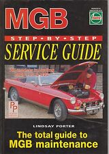 MG MGB GT COUPE ( INCL V8 ) ROADSTER MGC & RV8 1962 - 1994 OWNERS SERVICE MANUAL
