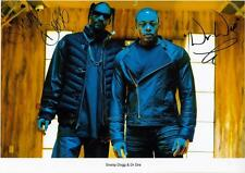 SNOOP DOGG & DR DRE AUTOGRAPHED SIGNED A4 PP POSTER PHOTO