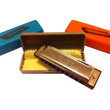 Personalised Engraved Harmonica with case in C. Blues Harp Groom Valentines Gift