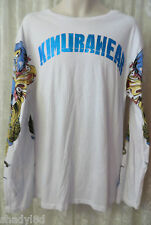 KIMURAWEAR TEE SHIRT Long Sleeve MMA Sport Gear Fight Box 2XL Tattoo Sleeve