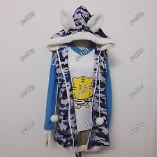 Nitro Super Sonico Sonic Tiger Hoodie Ver Cosplay Anime Custom Any size