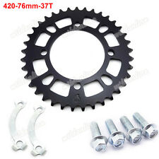 420 76mm 37T Rear Sprocket For 50cc-160cc SDG GPX Dirt Pit Bike Piranha YCF SSR
