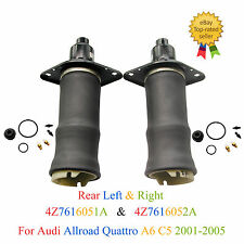 Left Right Air Suspension Spring For Audi A6 C5 4B Allroad Quattro Free shipping