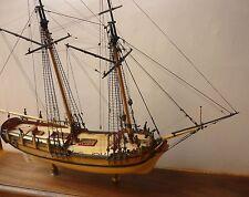 Maquette Bateau: «SULTANA» Colonial Schooner Boston 1767 de Model Shipways