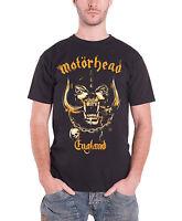 Motorhead Mens T Shirt Black England War Pig Mustard Official