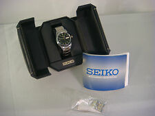 SEIKO MENS WATCH QUARTZ JAPAN MOVEMENT 7N43 9251 R2 SAPPHIRE CRYSTAL CASE 37MM W