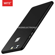 Black Luxury Shockproof Ultra Thin Hard Back Skin Case Cover For Huawei P9 S002