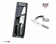 Coltello Global G-2220GB:Starterkit coltello chef G2+affilatore Mino-Sharp 220GB