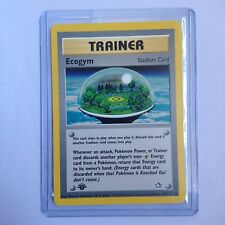 Ecogym Pokemon Card 84/111 1st Edition Neo Genesis Near Mint Minus (NM-)