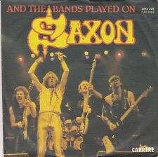 Saxon - And The Bands Played On/Hungry Years (Vinyl-Single 1981) !!!