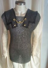 Roman Hamata MEDIUM Medieval Armor ~ 6mm round riveted & flat washer chainmail
