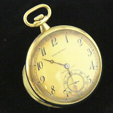 NYJEWEL Touchon & Co Tiffany 18K Yellow Gold Repeater Antique Pocket Watch