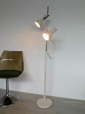 Stehlampe 2 Spots 60er 70er vintage  Space Age Fog Morup Strahler Stehleuchte