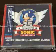 New SONIC THE HEDGEHOG 25TH ANNIVERSARY SELECTION [2 CD+DVD] WWCE31380 Japan