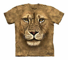 The Mountain Lion Warrior Wild Big Cat King Of The Jungle Cats Shirt Child Large