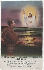 POSTCARD  SONG CARD How sweet the name of Jesus sounds (3)