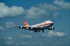 576047 Air Hong Kong B747 132 Manchester UK A4 Photo Print