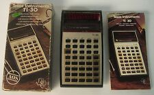 texas instrument ti-30 calcolatrice vintage , retrocomputer