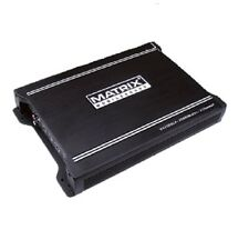 MATRIX AUDIO VX2000.2 AMP CAR STEREO AUDIO 2000W POWER 2 CHANNEL AMPLIFIER NEW