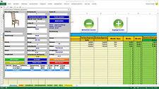 Lagerverwaltung 1000 Artikel mit Bildern und Lagerbestand-Status (Excel)