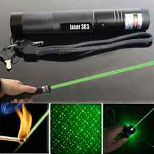 Cool 5mw 532nm Green Laser Flashlight Pointer Pen Adjustable Focus Visible Beam