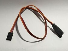 "8"" STANDERED SERVO EXTENSION CABLE 26awg (JR color)"