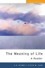 The Meaning of Life : A Reader (2007, Paperback)